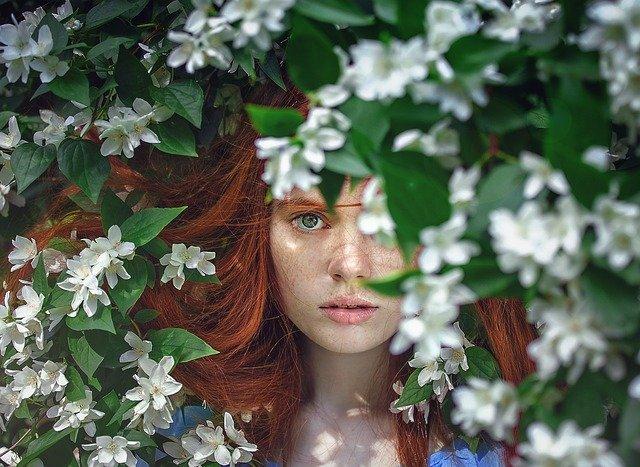 girl redhead