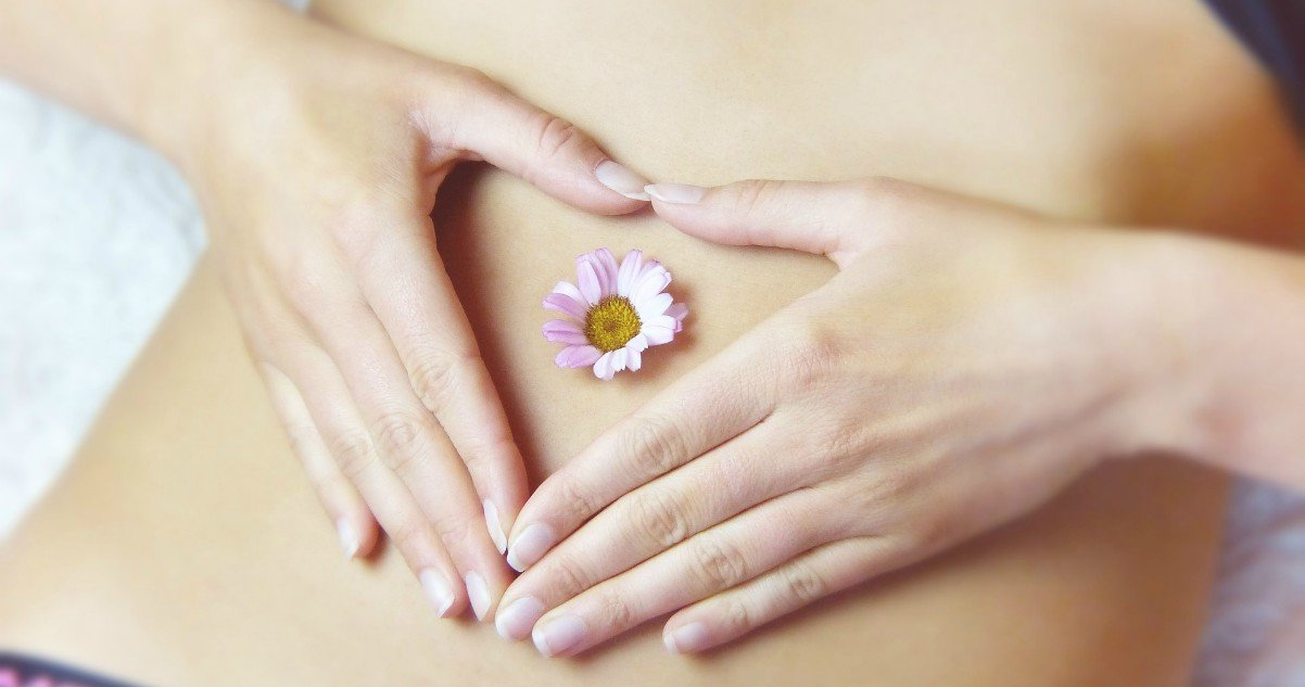 sensitive belly yoni cervix
