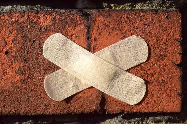 wall plaster healing