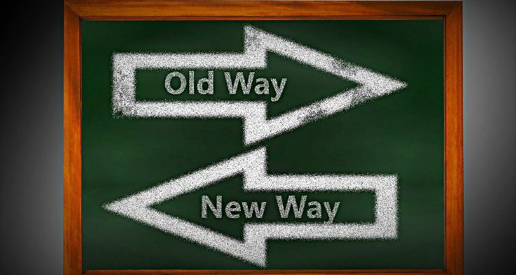 old way new way change