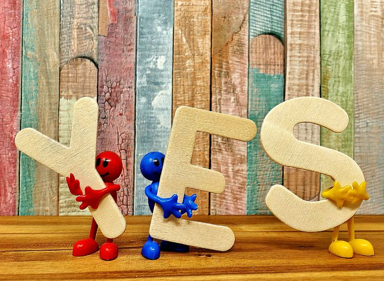 Is It Time You Practised Saying 'Yes'?