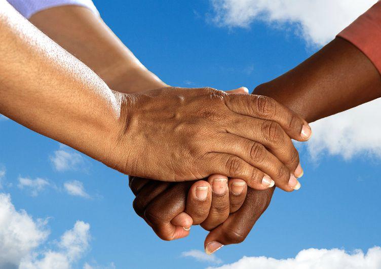 hands togetherness