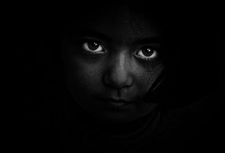 inner child dark eyes