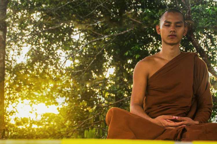 meditate monk