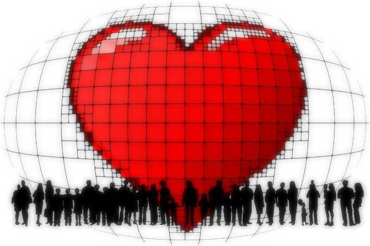 heart love people