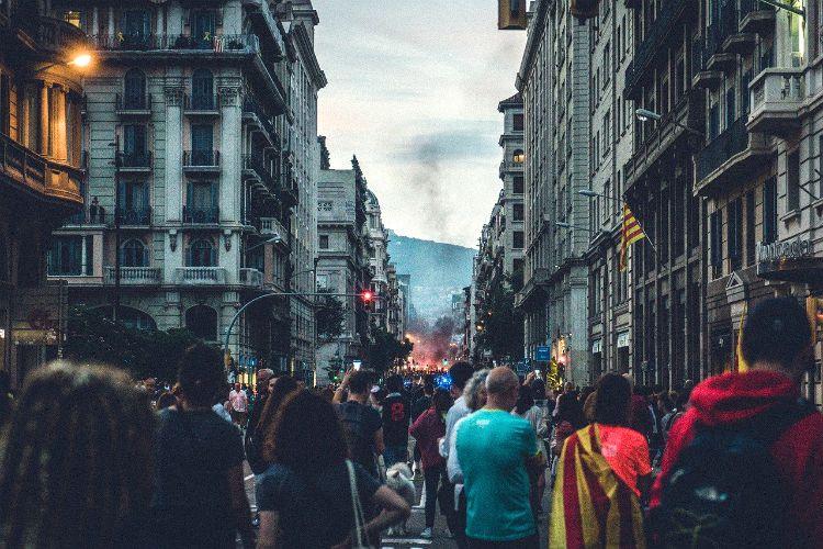 barcelona riots