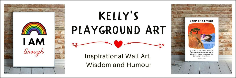 kellys playground art quote