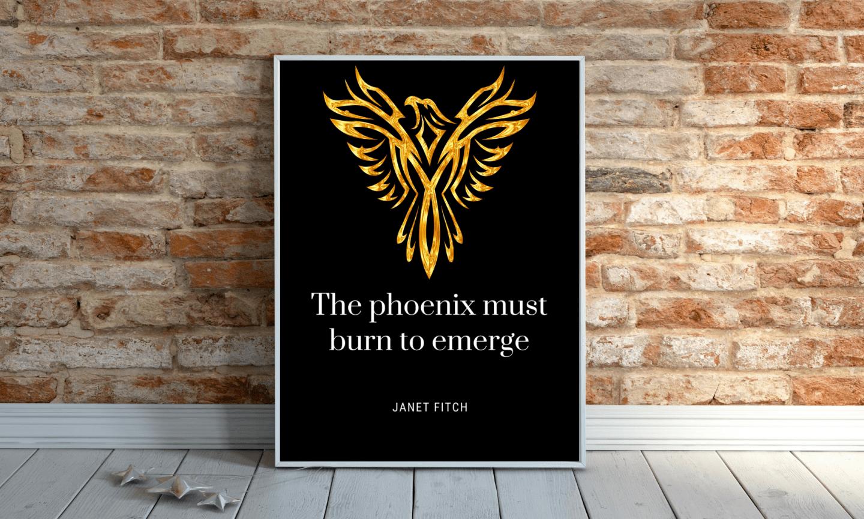 phoenix wall art
